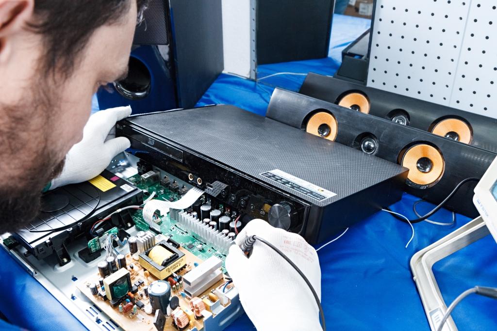 Ремонт и обслуживание аудио-, видеотехники